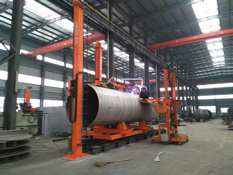 钛环_等离子+氩弧焊(P+T)自动焊接专机